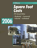 2006 Square Foot Costs