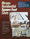 Contractor's Pricing Guide: Residential Square Foot Costs (Means Contractor's Pricing Guides)
