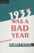 1933 Was A Bad Year