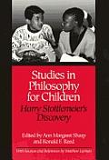 Studies in Philosophy for Children: Harry Stottlemeier's Discovery