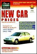 Edmund's Nineteen Ninety-Six New Car Prices