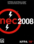 National Electrical Code (NEC) 2008 (Looseleaf Version) Cover