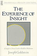 Experience of Insight A Simple & Direct Guide to Buddhist Meditation