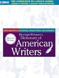 Merriam Websters Dictionary Of American Writer