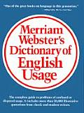 Merriam Websters Dictionary of English Usage