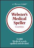 Websters Medical Speller 2nd Edition
