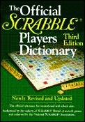 Official Scrabble Players Dictionary 3rd Edition