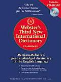 Webster's Third New International Dictionary [With CDROM]