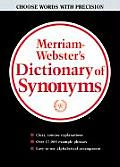 Merriam-Webster Dictionary of Synonyms