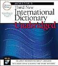 Websters Third New International Unabridged Dictionary