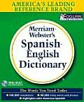 Merriam-Webster's Spanish-English Dictionary on CD-ROM