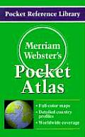 Merriam-Webster's Pocket Atlas (Pocket Reference Library)