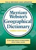 Merriam Websters Geographical Dictionary 3RD Edition