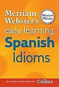 Merriam-Webster's Easy Learning Spanish Idioms Cover
