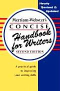 Merriam Websters Concise Handbook for Writers