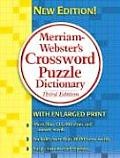 Merriam-Webster's Crossword Puzzle Dictionary (Large Print) Cover