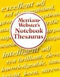 Merriam-webster's Notebook Thesaurus (04 Edition)