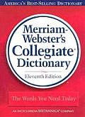 Merriam-webster's Collegiate Dictionary - Laminated (11TH 03 Edition)