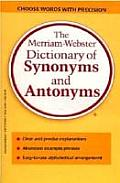 Merriam Webster Dictionary of Synonyms & Antonyms