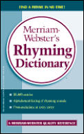 Merriam-Webster's Rhyming Dictionary Cover