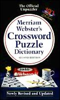 Merriam Websters Crossword Puzzle Dictionary 2nd Edition