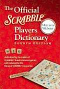 Official Scrabble Players Dictionary 4TH Edition Cover