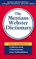 Merriam Webster Dictionary 11TH Edition Cover