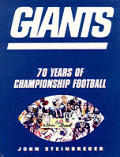 Giants 70 Seasons Of Championship Foot