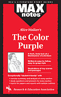 The Color Purple (MAXnotes) - Study Notes Cover