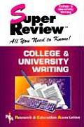 College & University Writing Super Revie