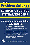 Automatic Control Systems / Robotics Problem Solver (Rea's Problem Solvers) Cover