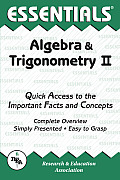 Algebra & Trigonometry II (Essentials)