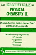 The Essentials of Physical Chemistry II