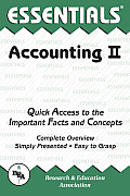 Essentials Of Accounting II