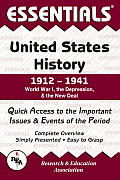 United States History: 1912 to 1941 (Essentials)