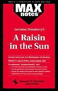 Raisin in the Sun, a (Maxnotes Literature Guides)