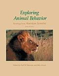 Exploring Animal Behavior 5th Edition