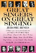 Great Singers on Great Singing (82 Edition) Cover