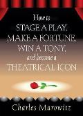 How to Stage a Play Make a Fortune Win a Tony & Become a Theatrical Icon