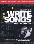 How to Write Songs on Guitar Cover