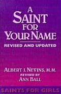 Saint For Your Name Saints For Girls