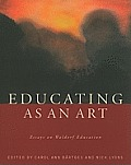 Educating As an Art Cover