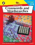 Crosswords and Wordsearches, Grades 2-4