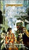 Dragonlance Saga Novel: Preludes #04: Riverwind the Plainsman Cover