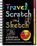 Travel Scratch and Sketch: A Cool Art Activity Book for Budding Artists and Travelers of All Ages (Activity Journals)