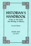 Historians Handbook A Key To The Study &