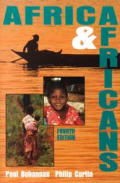 Africa and Africans (4TH 95 Edition) Cover