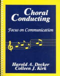 Choral Conducting Focus On Communication