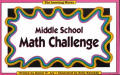 Middle School Math Challenge