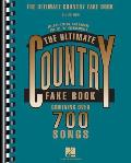 The New Ultimate Country Fake Book (Fake Books)
